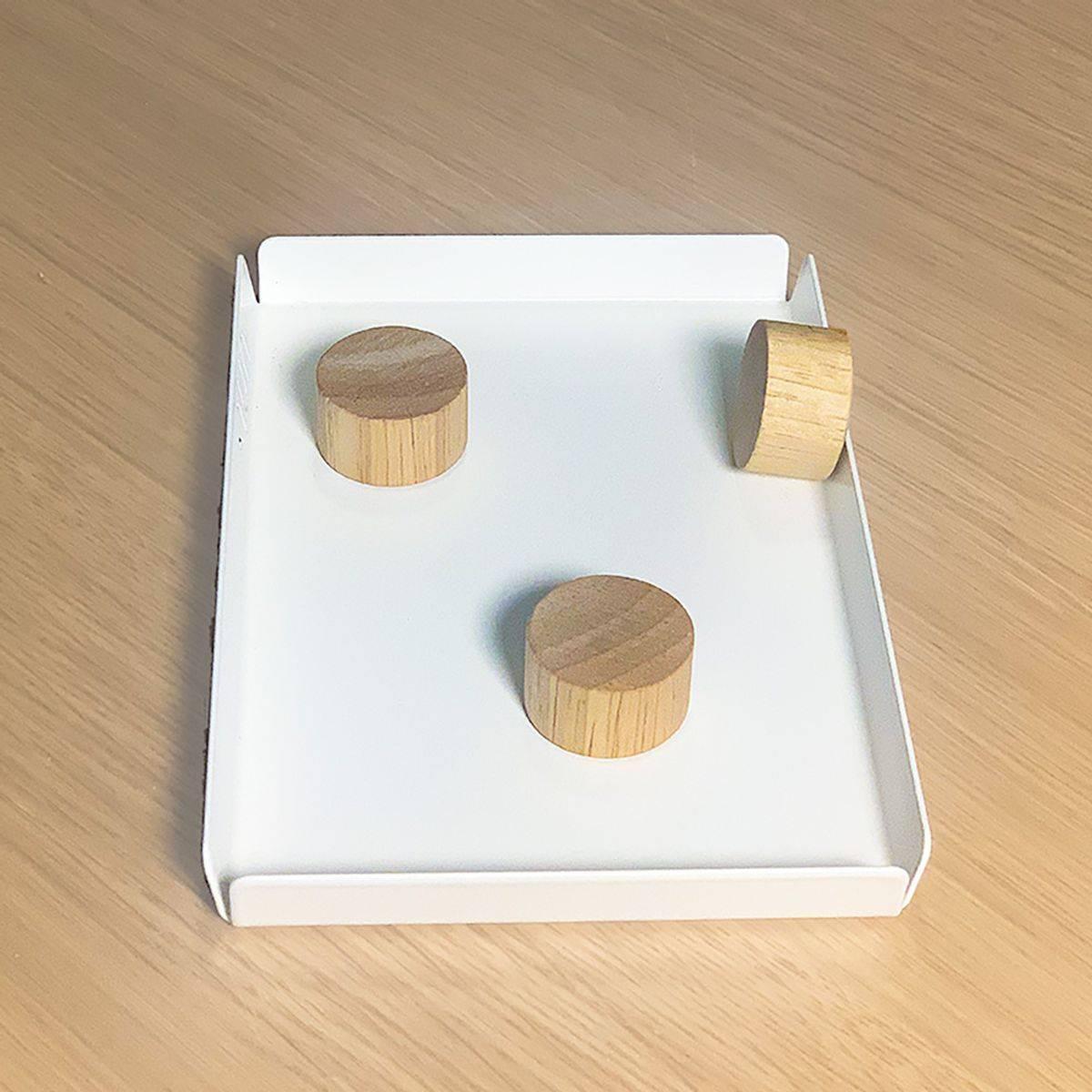 Magneter i eik 2pk. - Hübsch